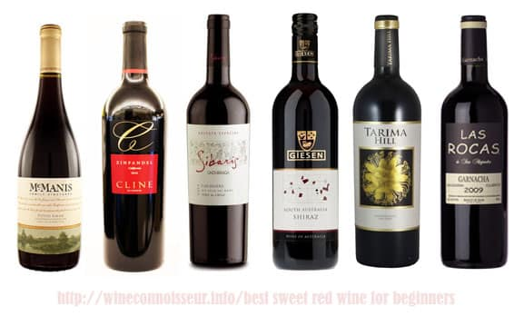 best sweet red wine for beginners