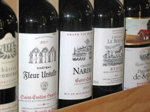 Famous French Wine